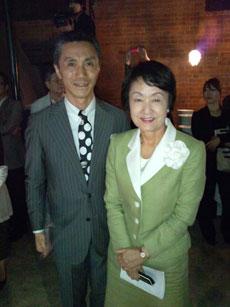 林文子横浜市長と。