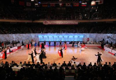 日本インターナショナルダンス選手権大会